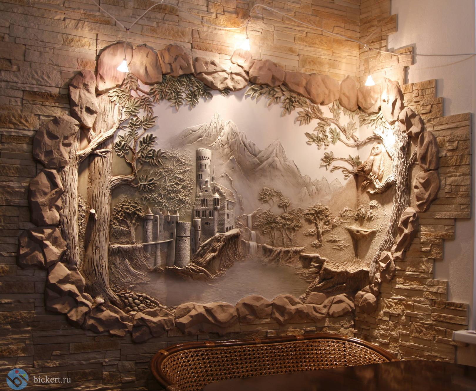 Декорирование стен 92