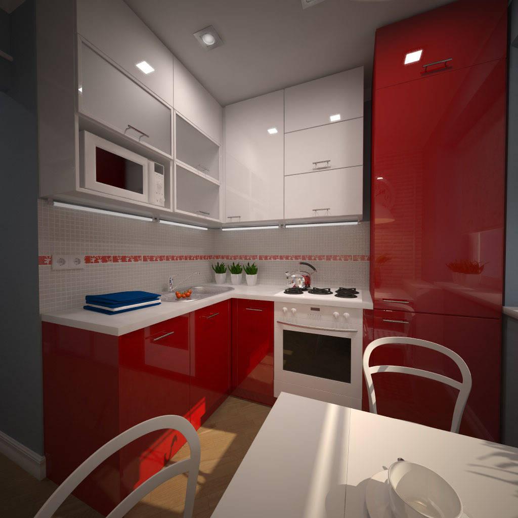 Фото дизайна кухонь для хрущевок