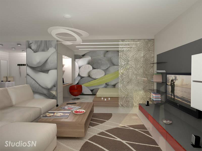Спальня гостиная студия дизайн