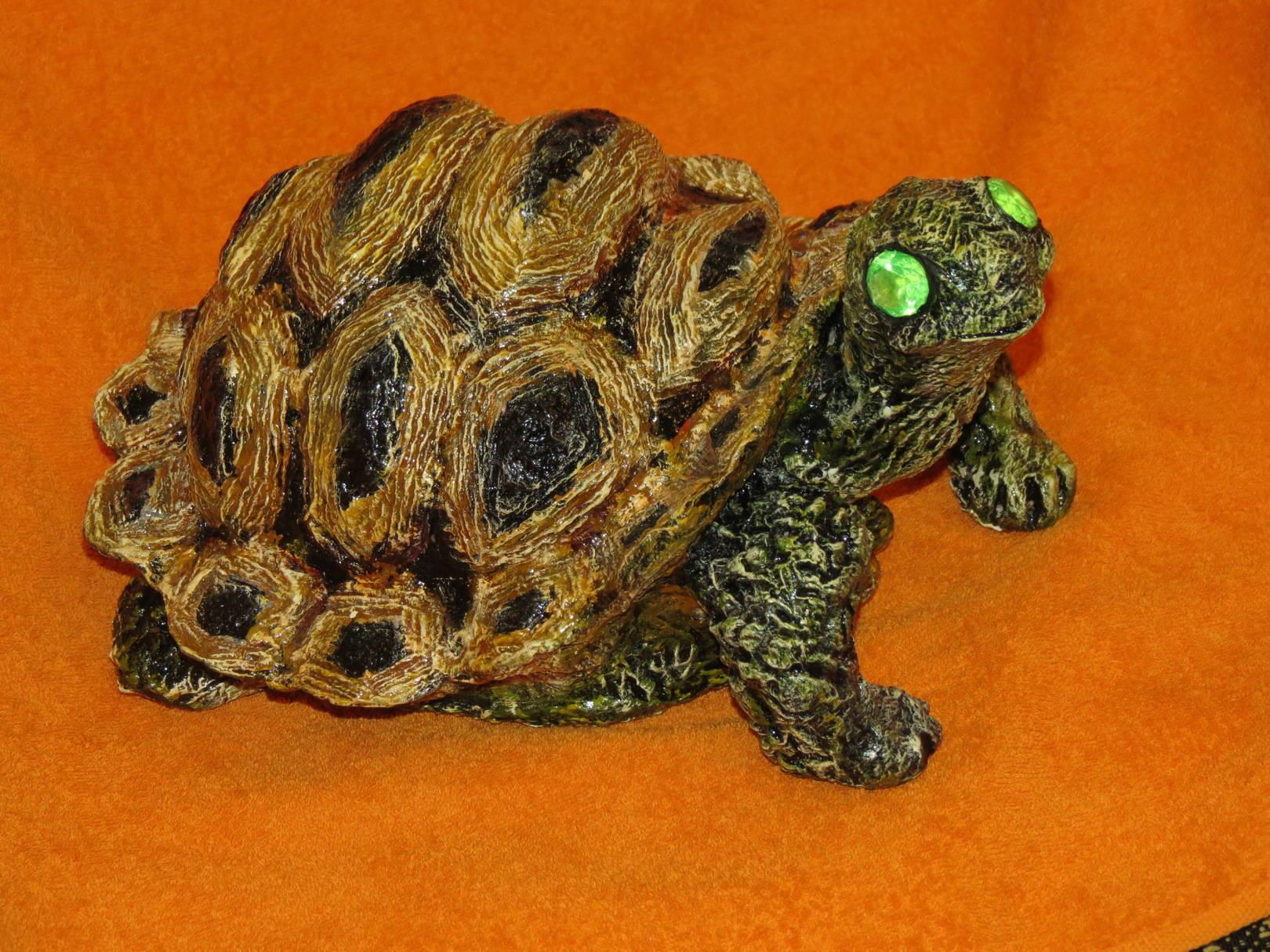 Мастер-класс черепаха из папье