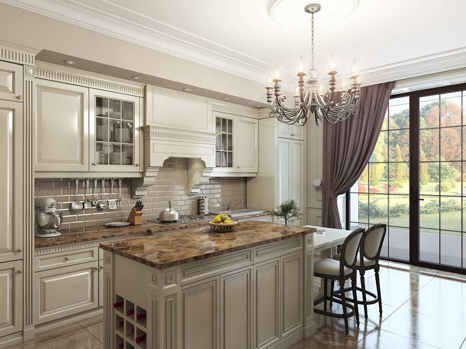Дизайн кухни на верандах в доме