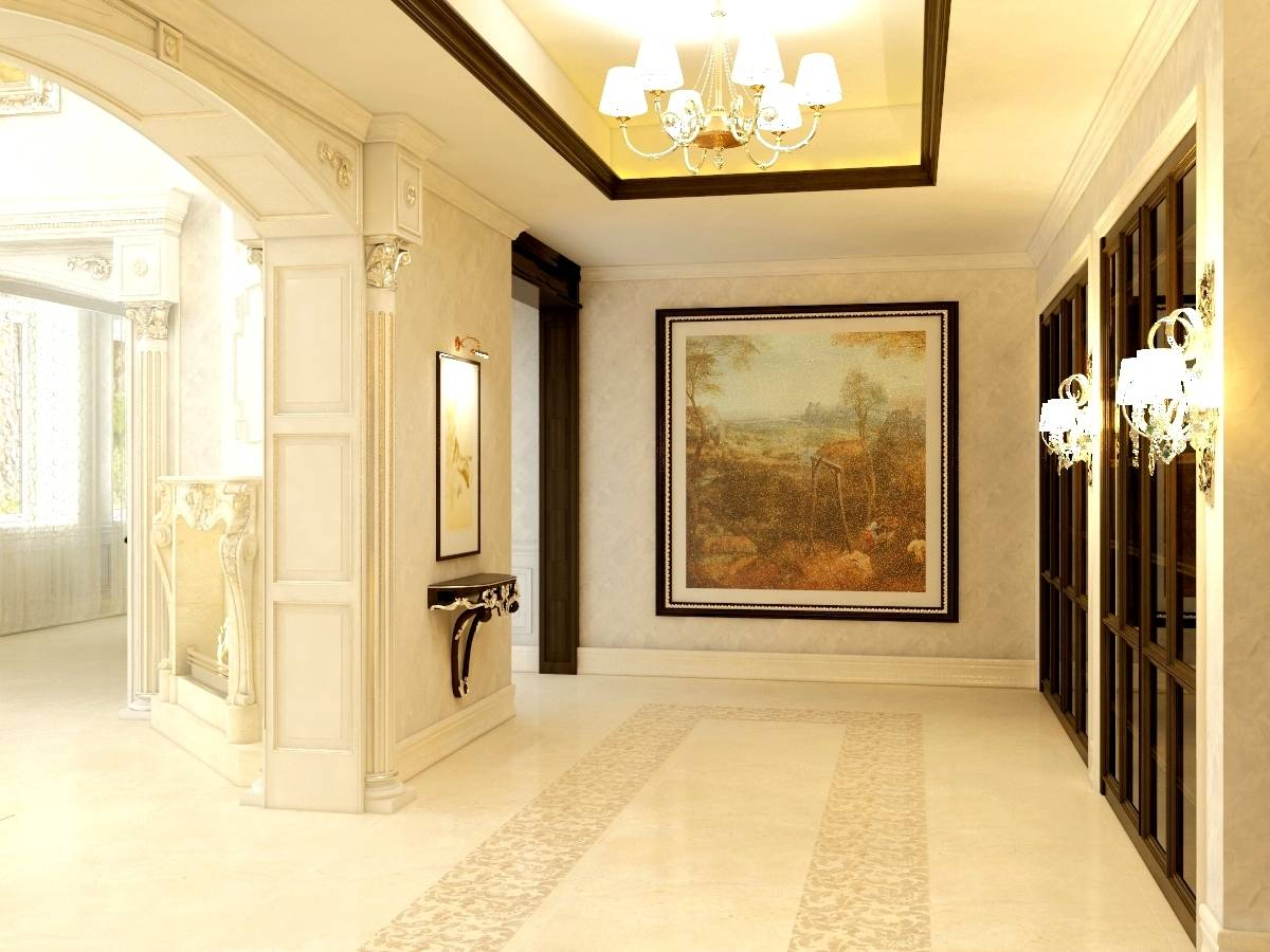 Классический дизайн интерьер дома киев