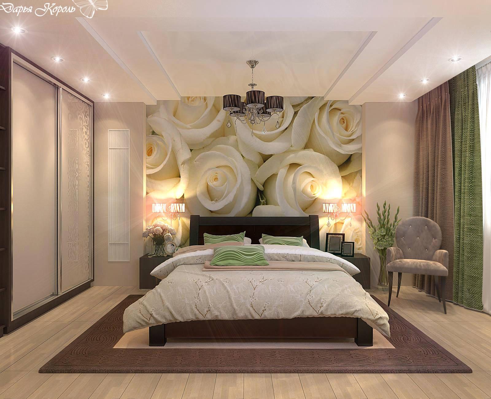 Дизайн спальни с