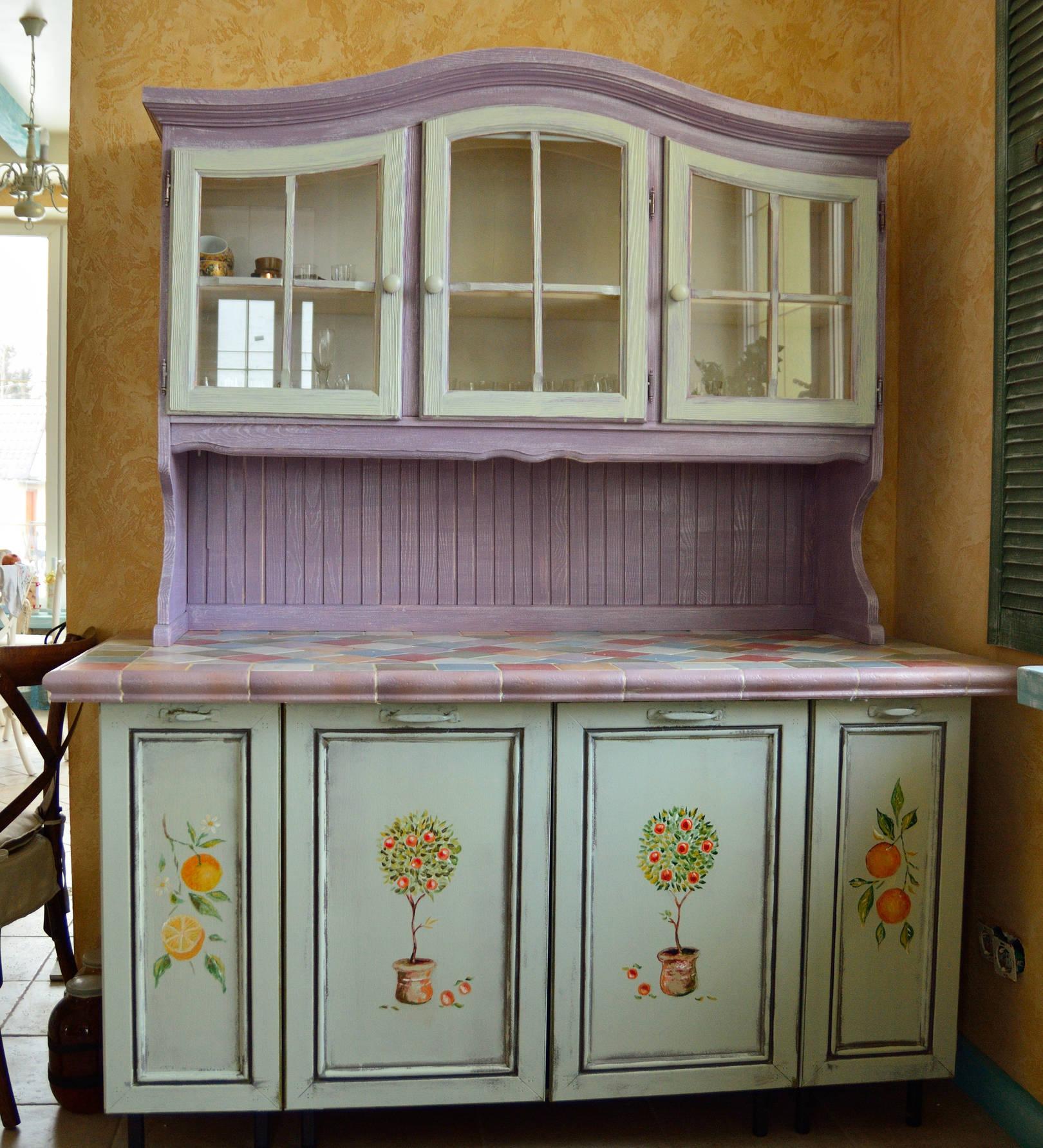 Чем покрасить кухонную мебель своими руками