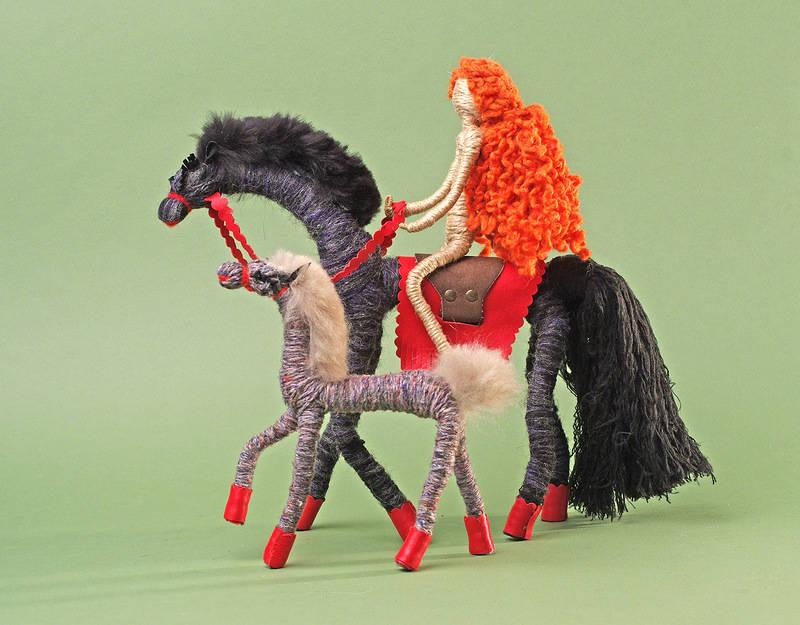 Картинки поделок лошади
