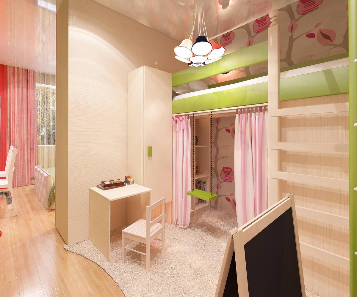 Дизайн комнат маленькой площади 135