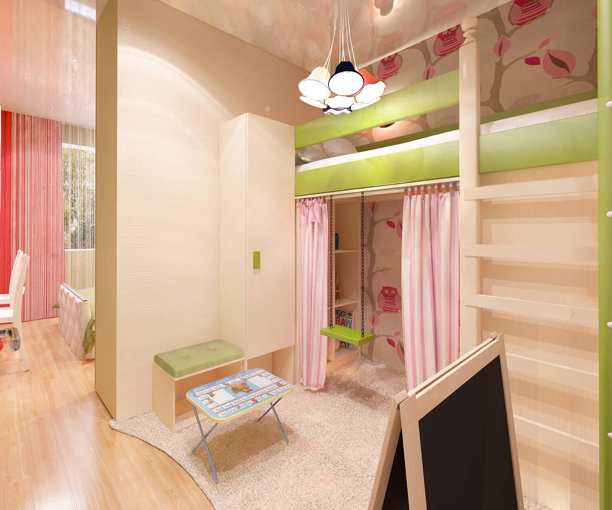 Дизайн комнаты детской иродительской