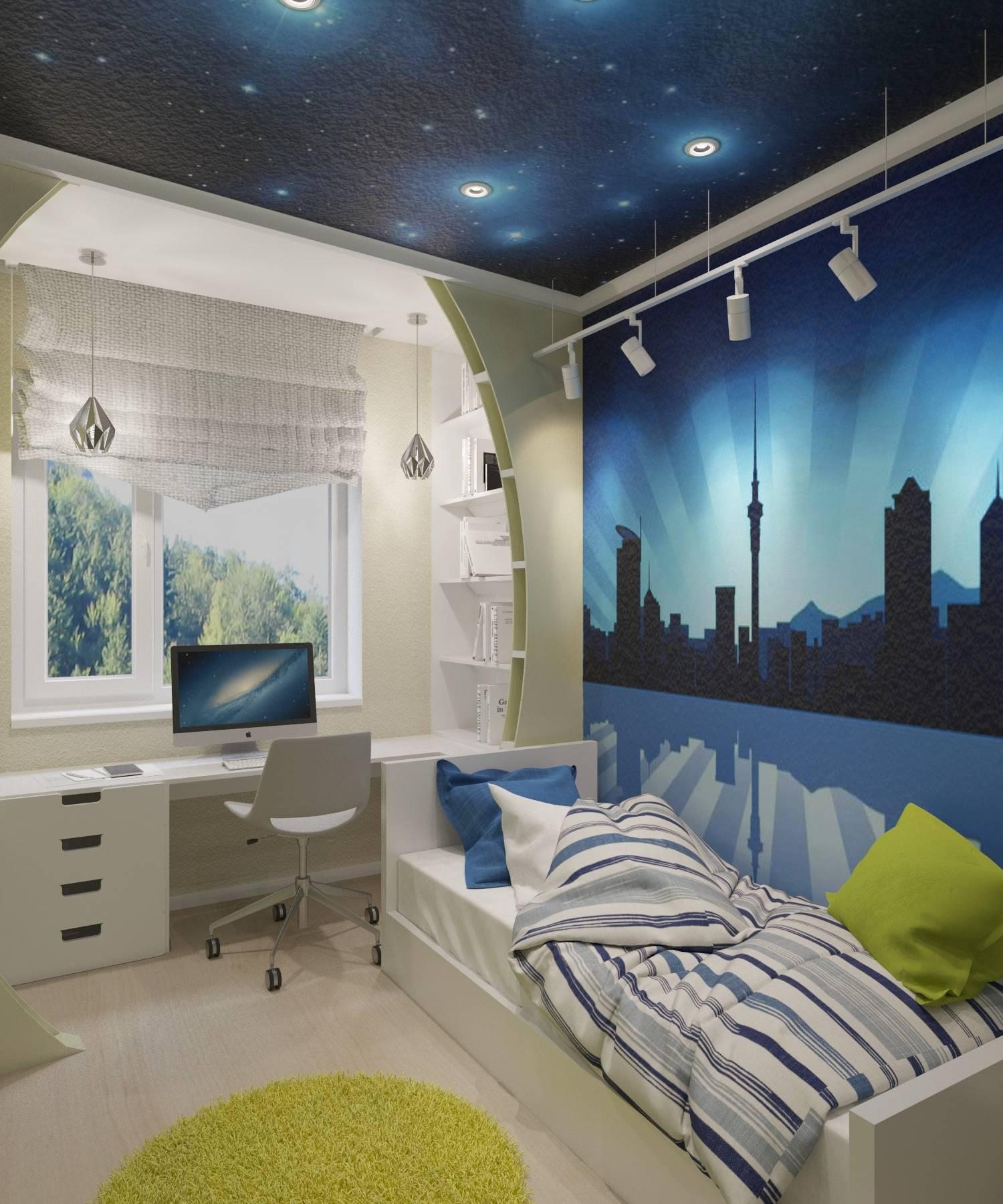 Дизайн для спальни для подростка мальчика дизайн
