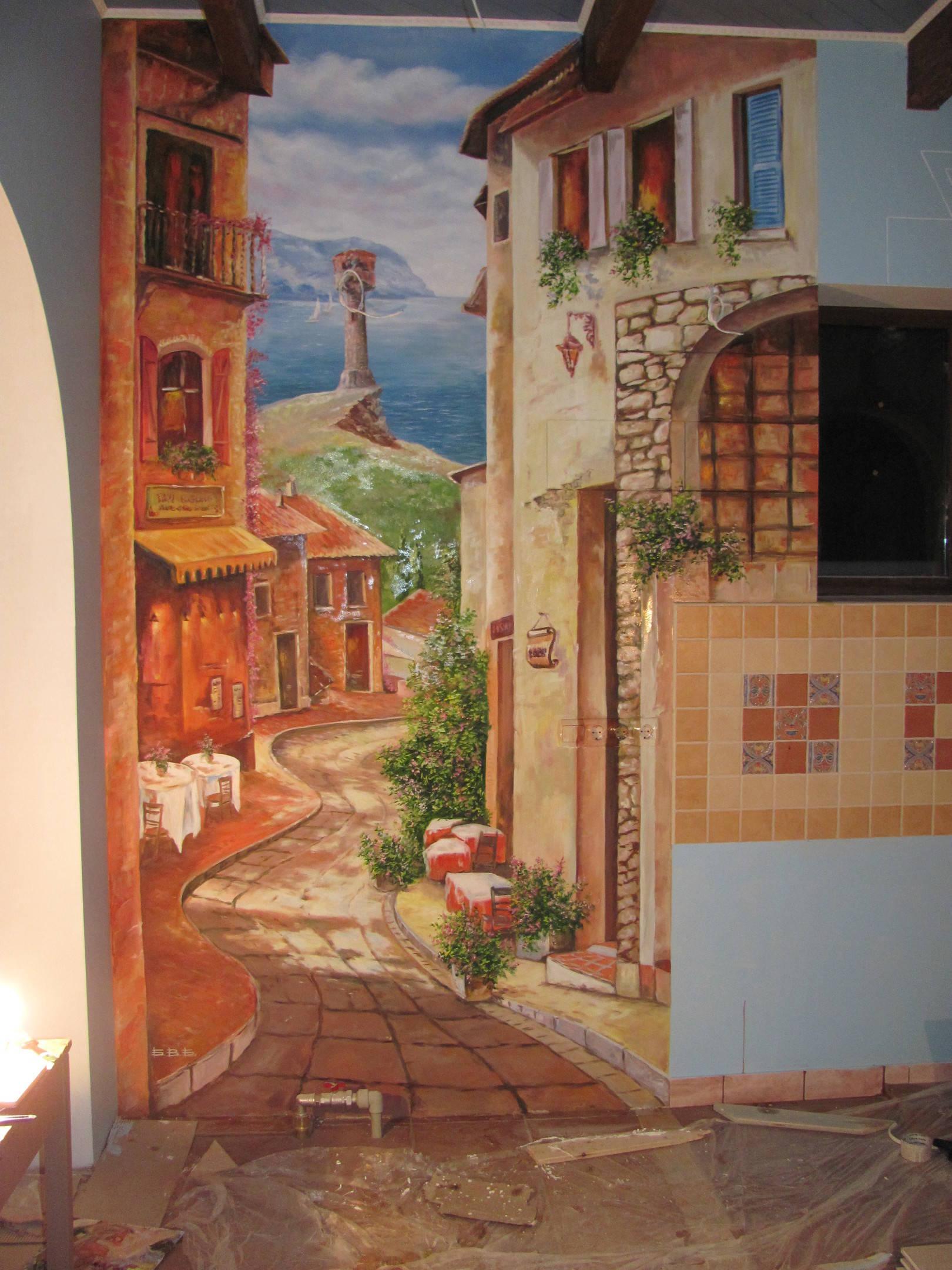 Краски для росписи стен на улице