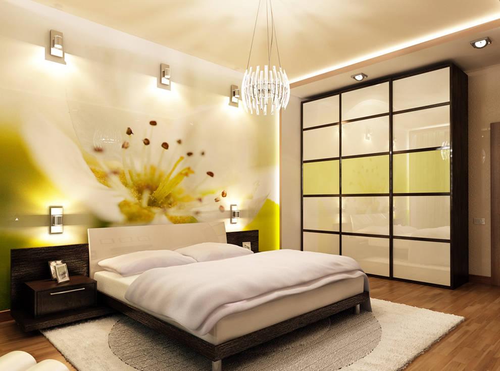 Интерьер спальни фото в современном стиле 9 кв.м