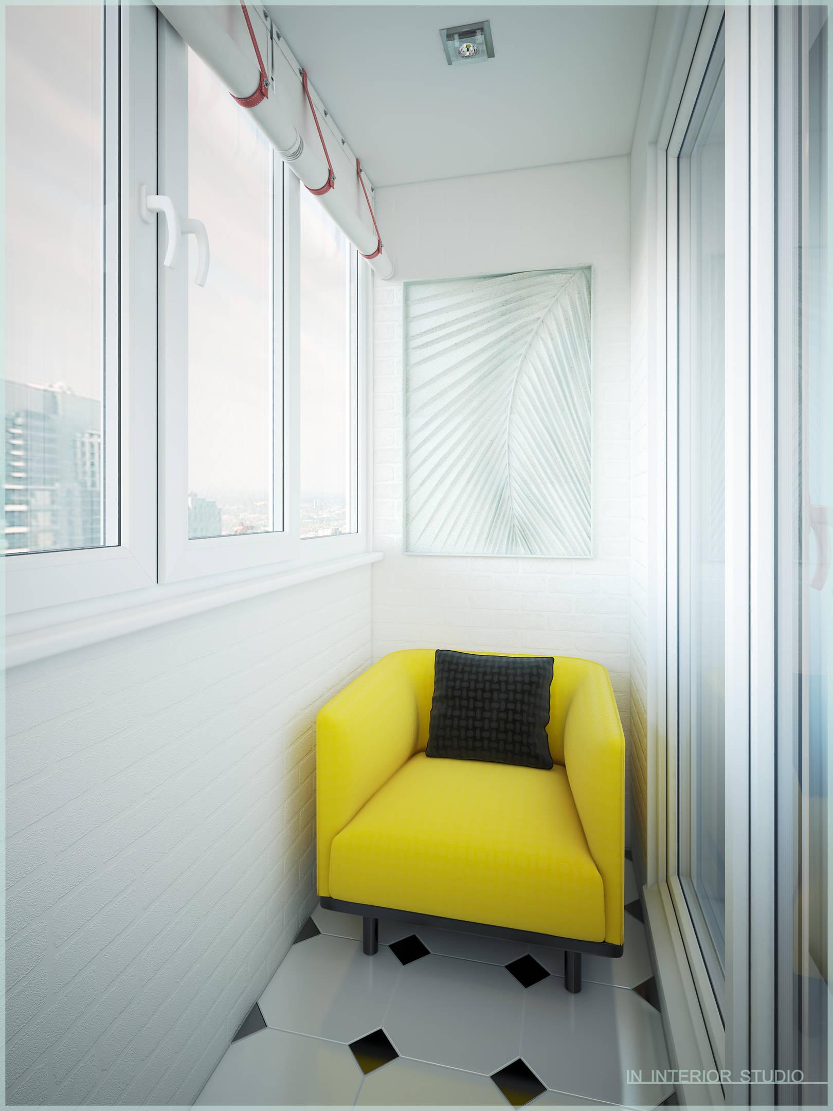 Апартаменты в стиле поп-арт - интерьеры и архитектурные реше.