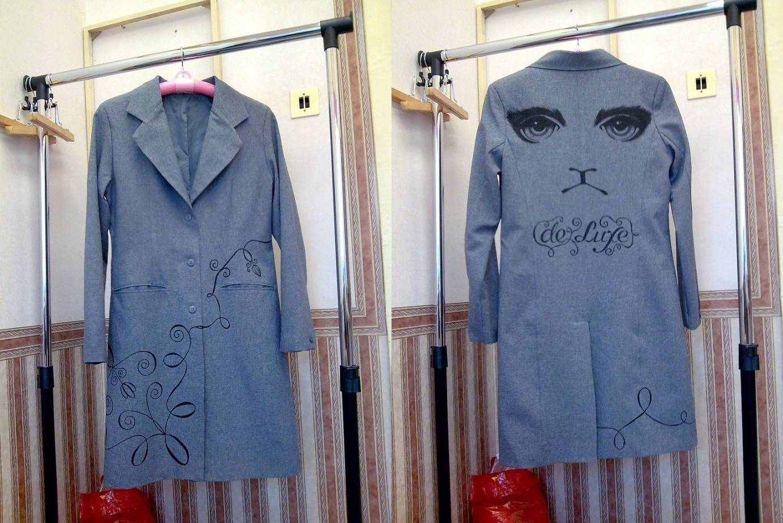 Как из старого пальто сделать новую
