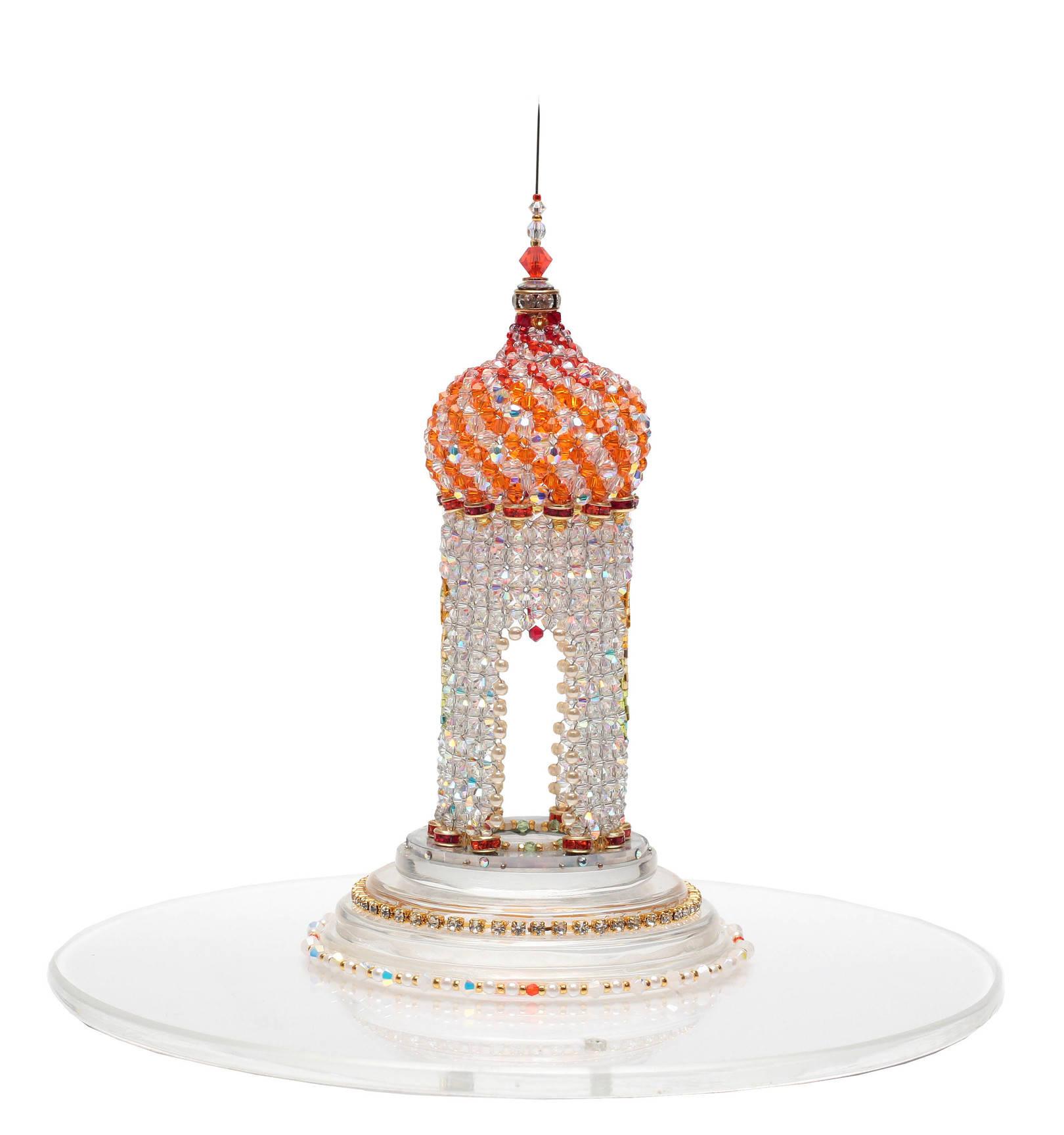 The Temple Swarovski  Swarovski beads, Czech and Japanese beads, Czech accessories, wire.