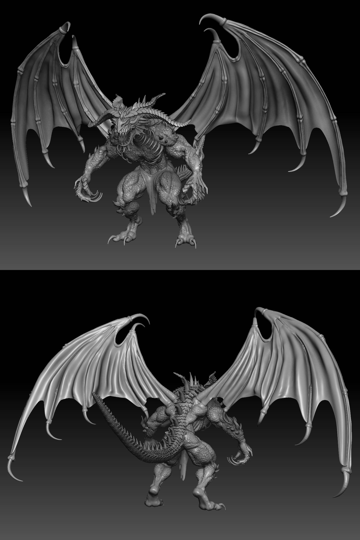 3ds max, Zbrush, Ps