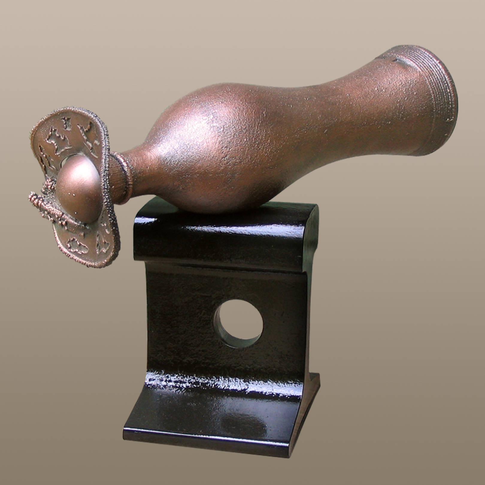 «Анна Каренина»   (медь, сталь)  25х17х28 см