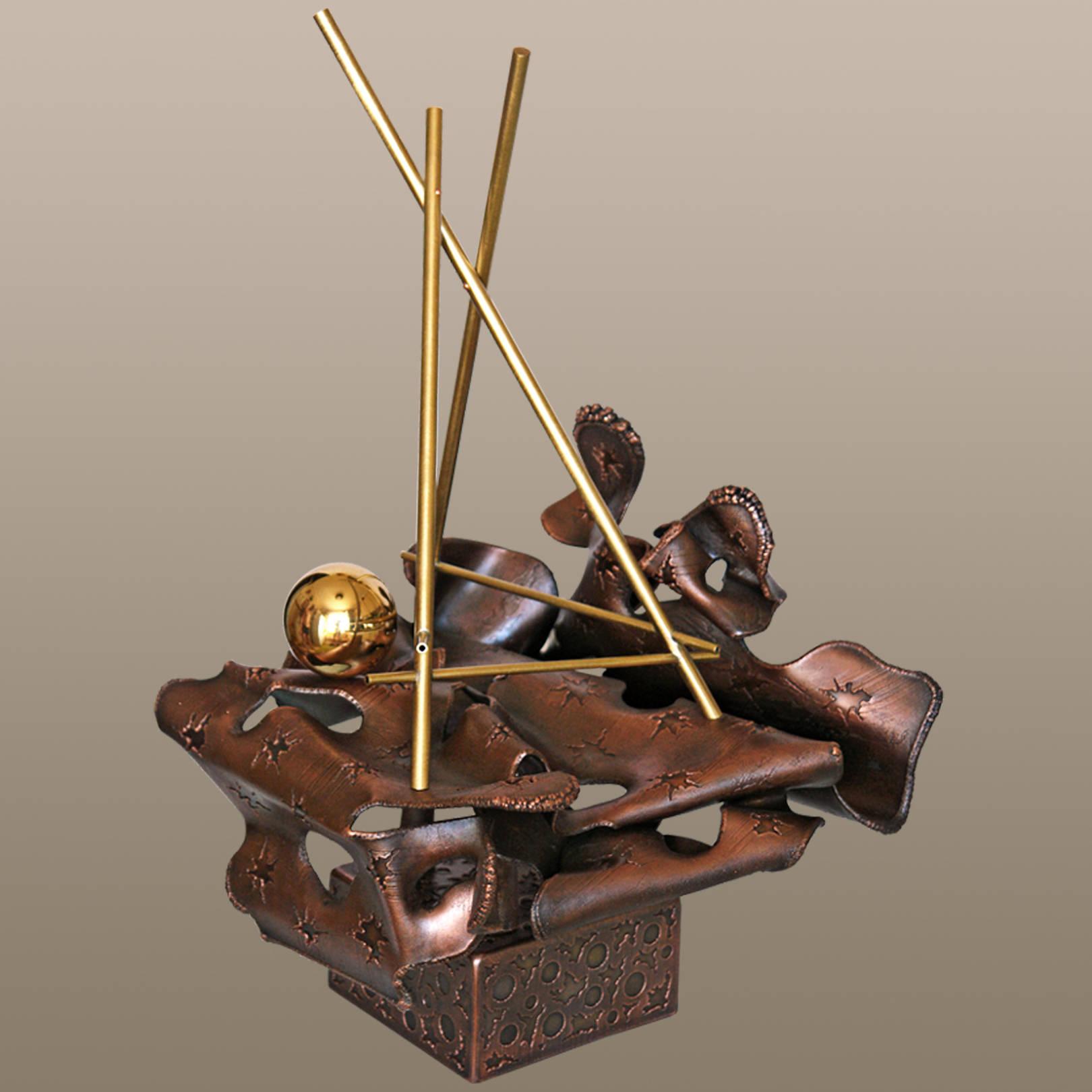 «Медитация»   (медь, латунь)  58х35х36 см