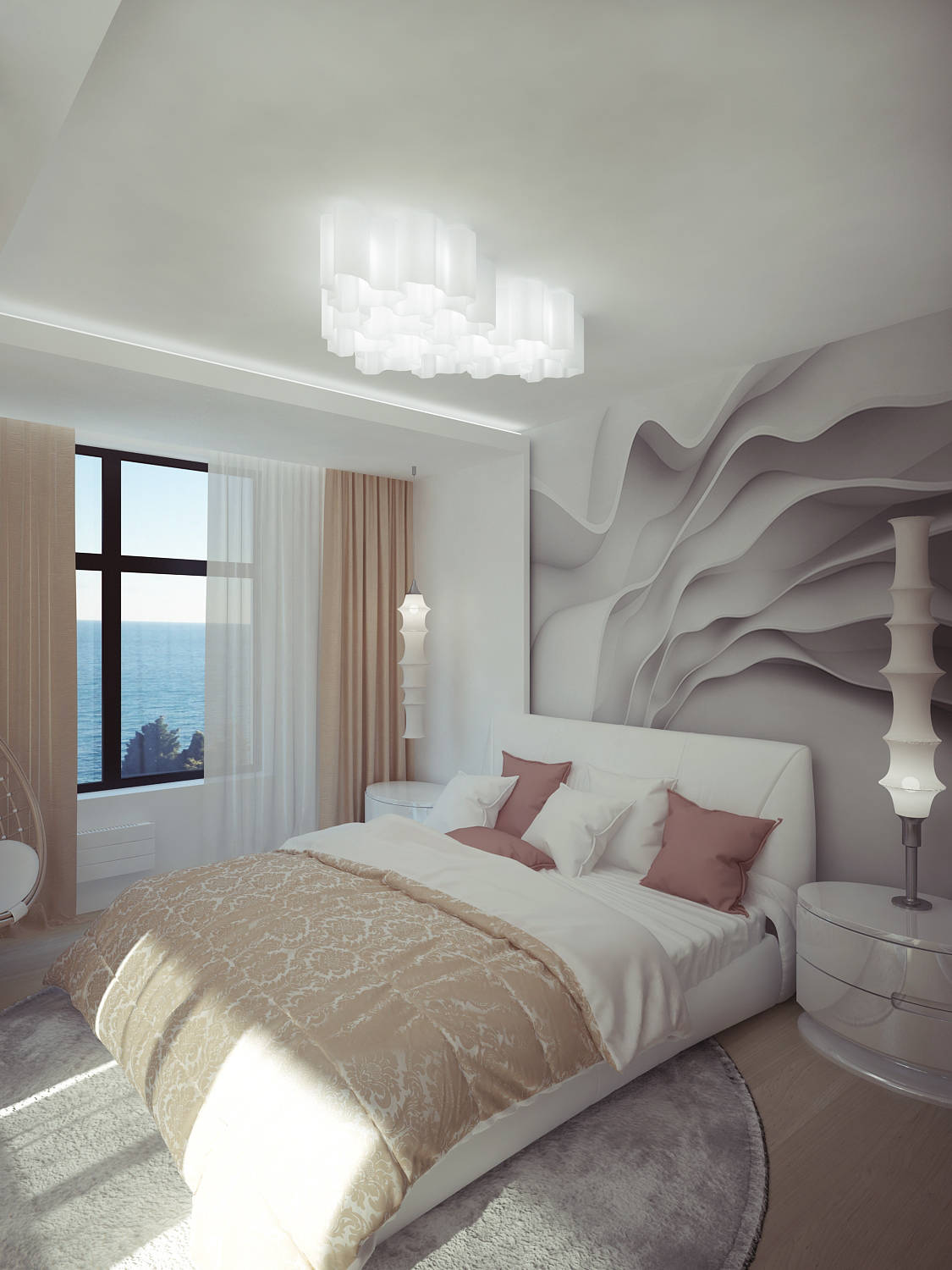Bedroom Cozy lightness