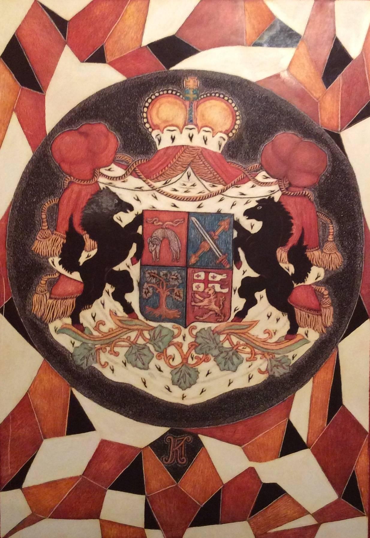 Вариации семейного герба Пагава