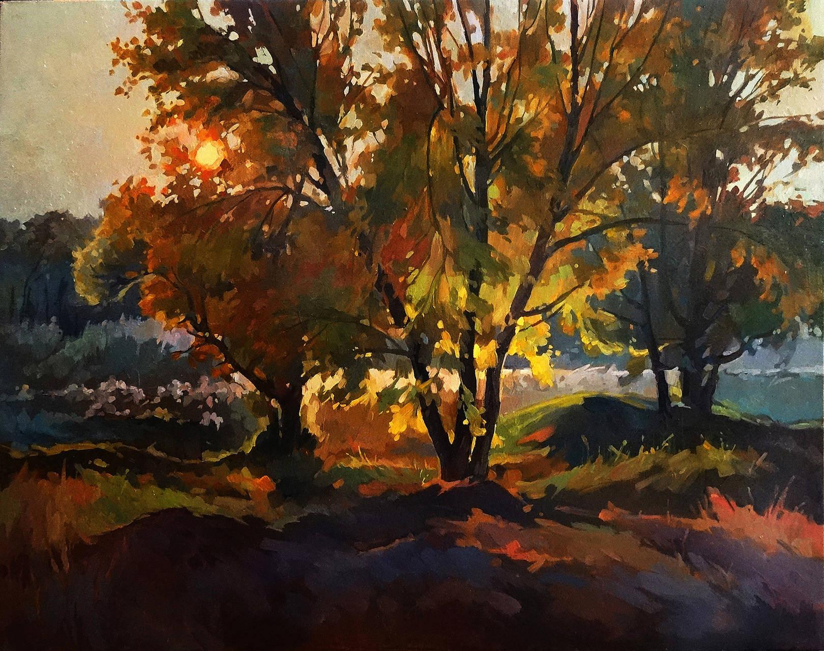 """Осенний закат"""