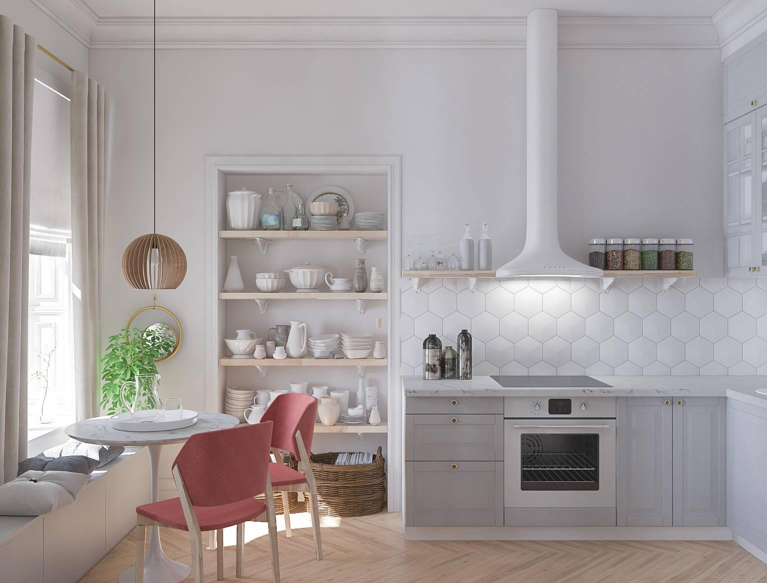 Квартира г. Санкт-Петербург - Кухня