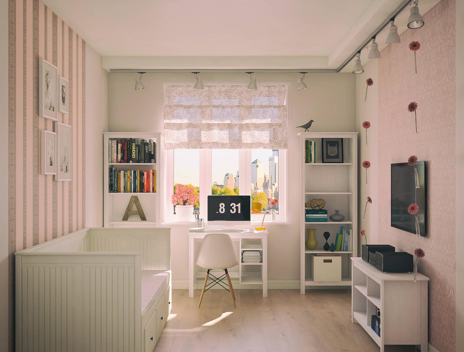 Квартира г. Москва - Спальня_вид1