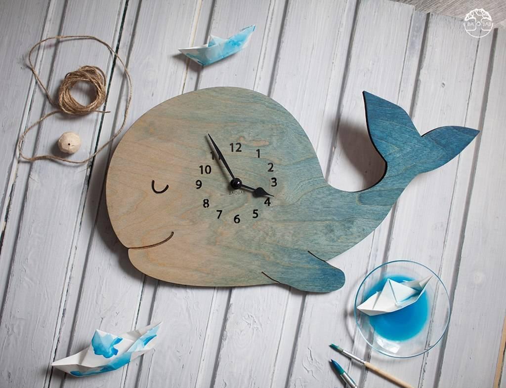 """Настенные часы """"Whale"""""""