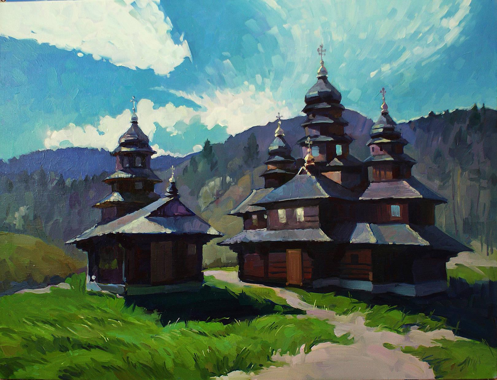 Карпатский монастырь
