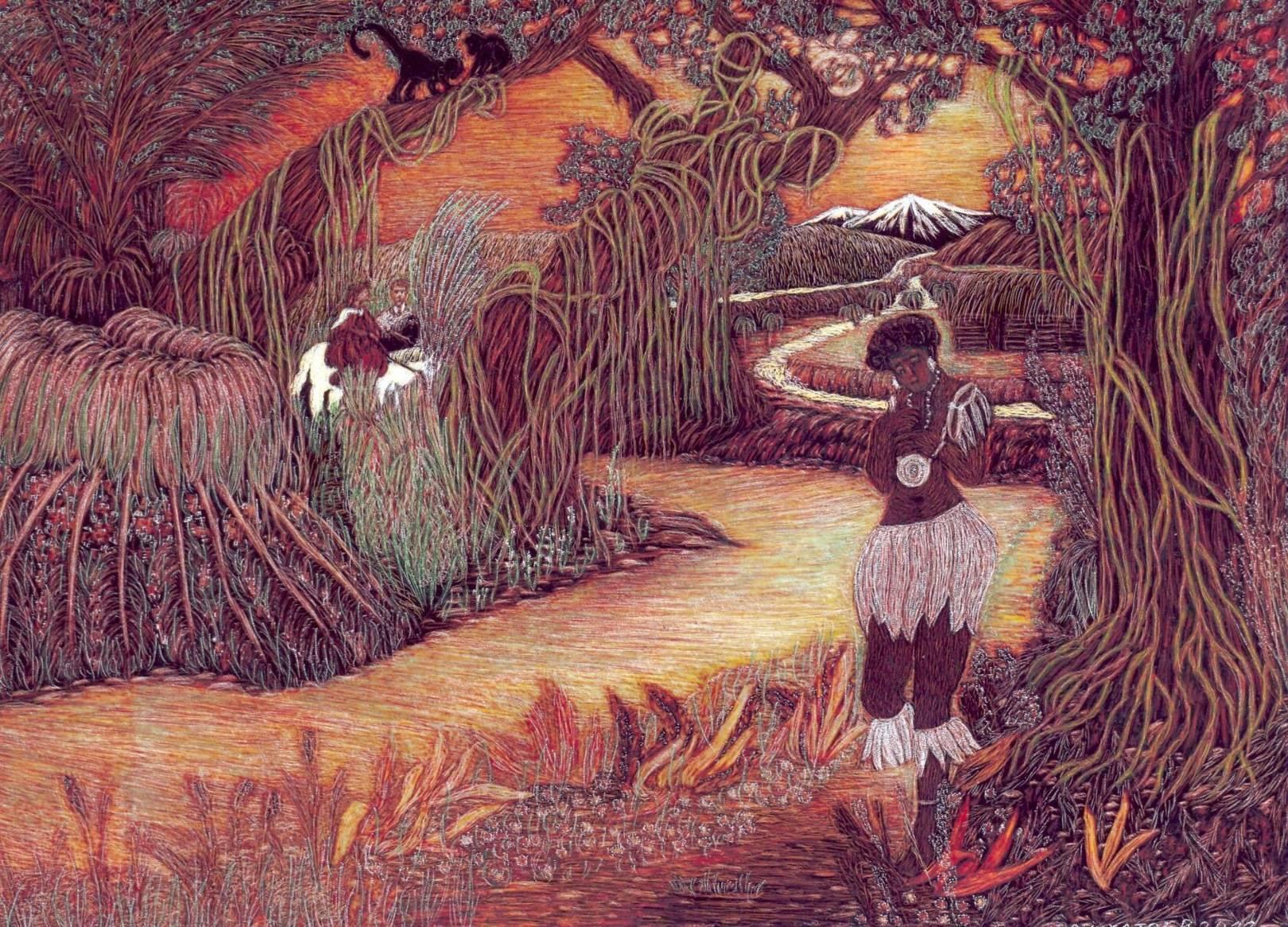 Джунгли закат