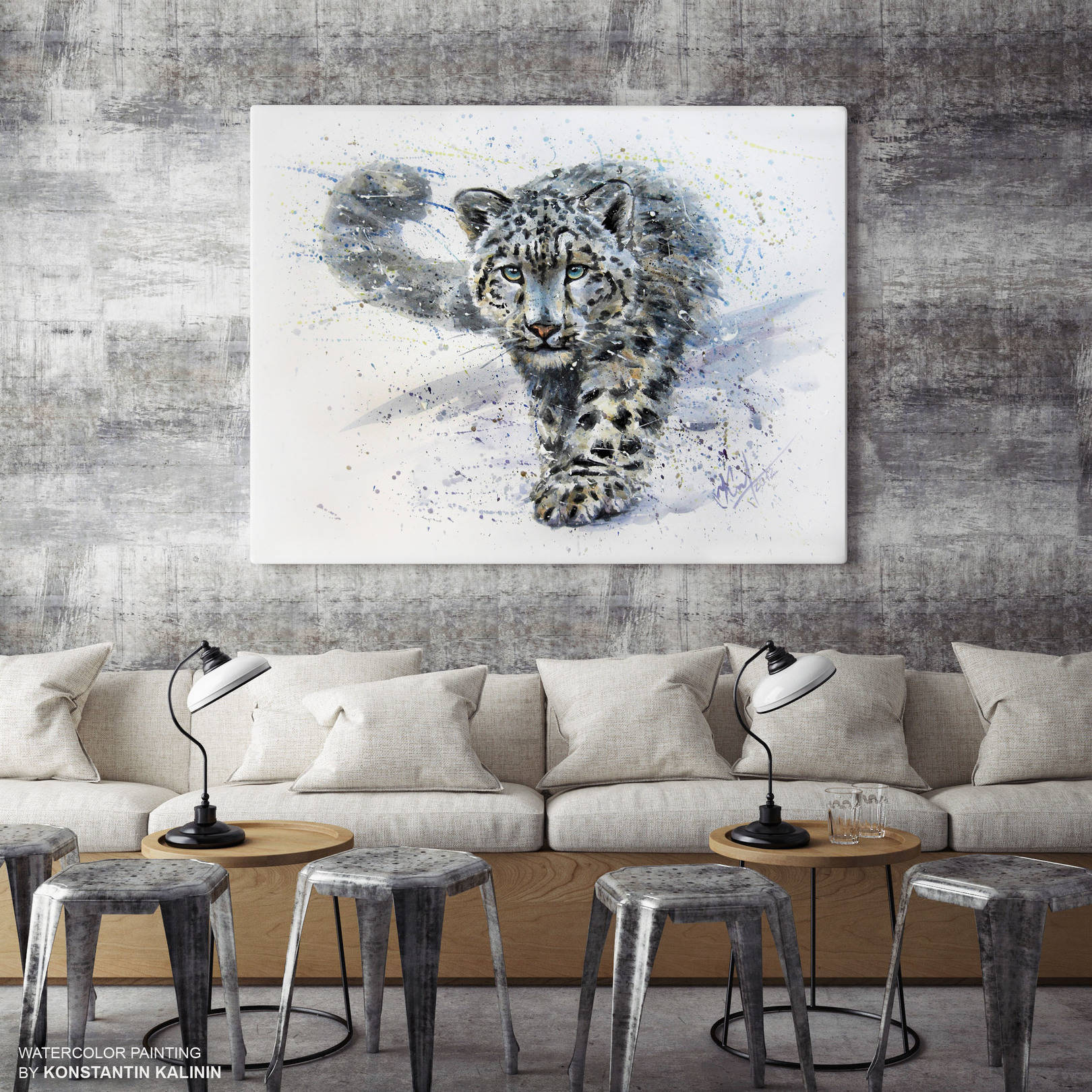 Снежный барс - Snow Leopard