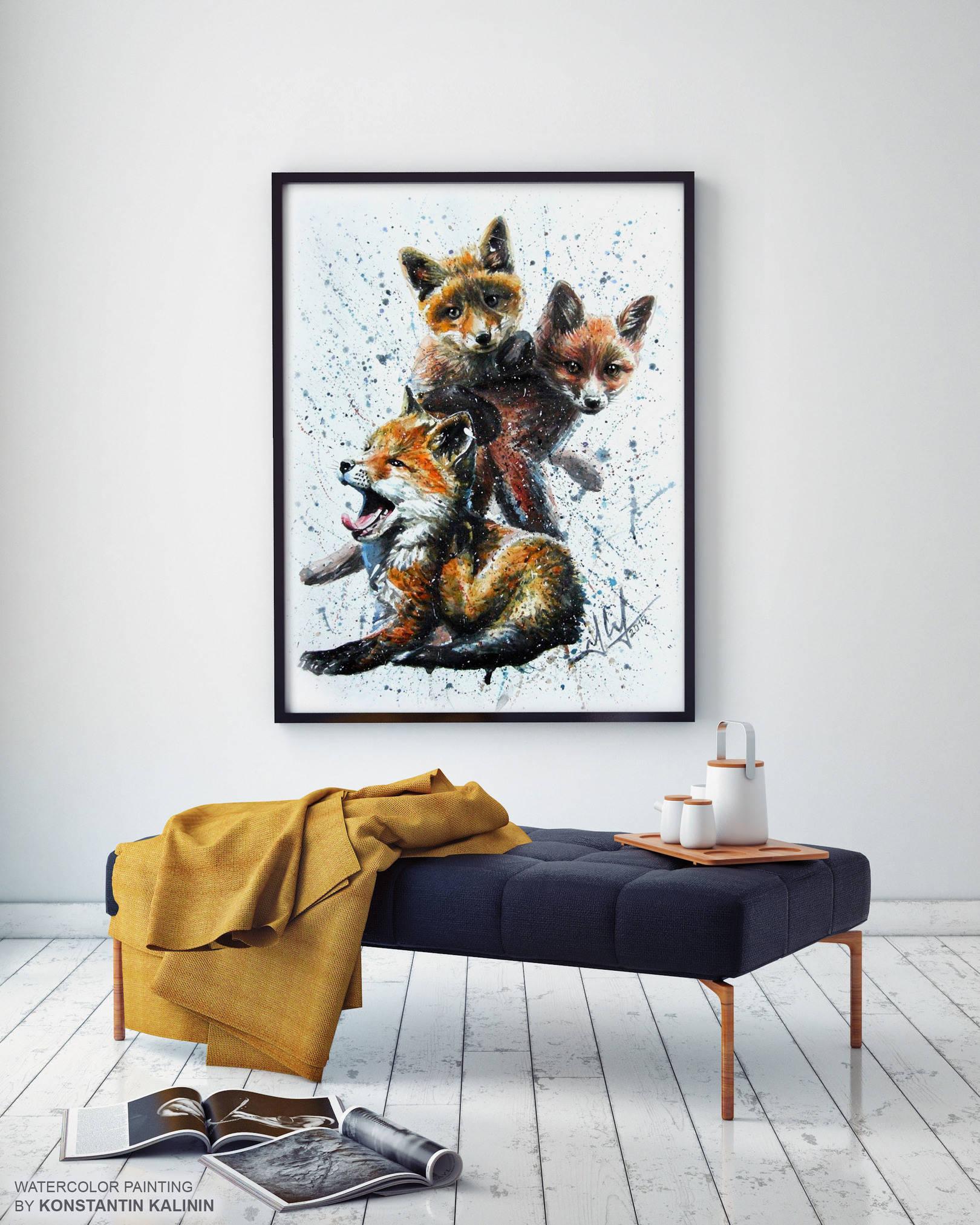 Лисята - Little foxes