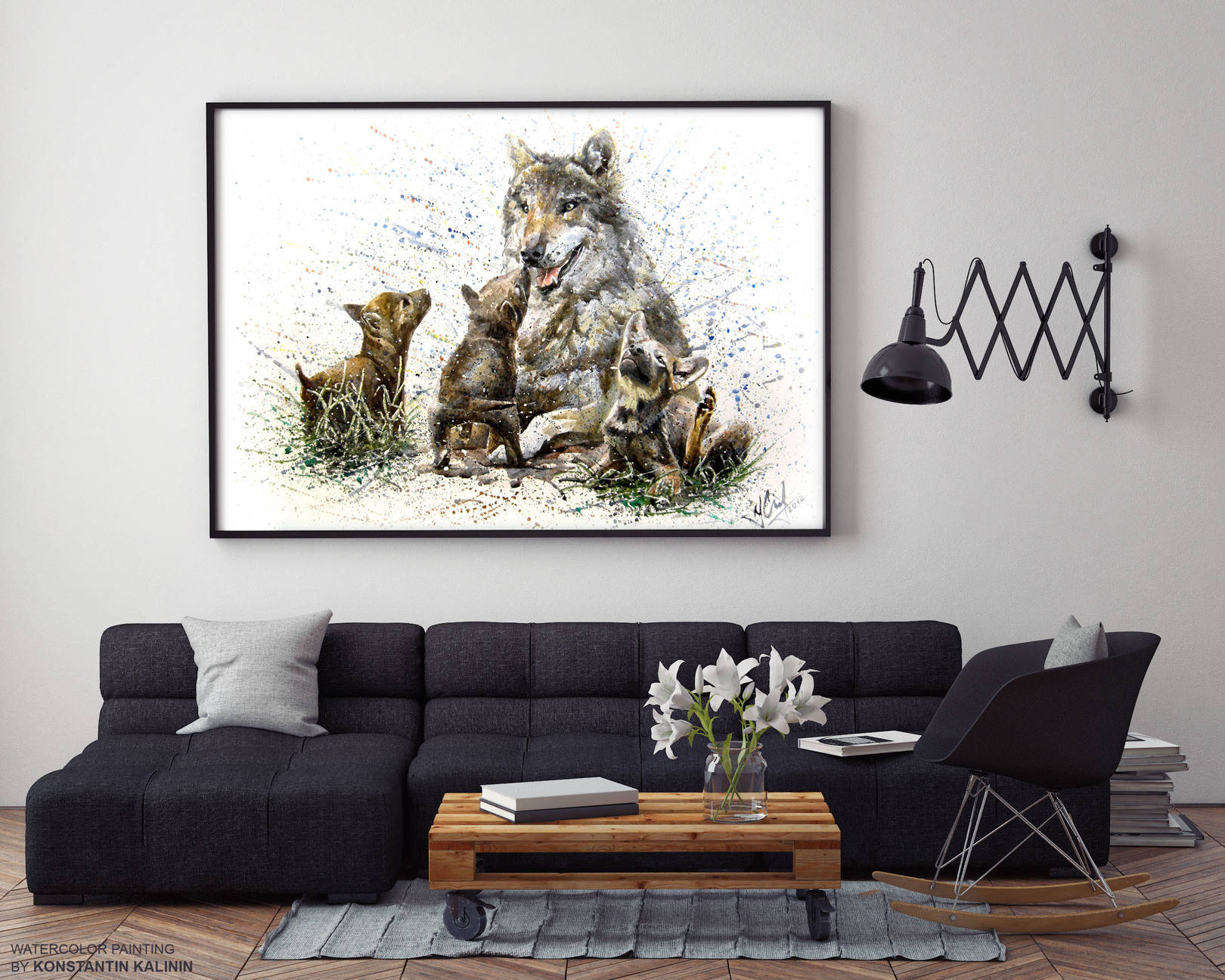 Волчата - wolves