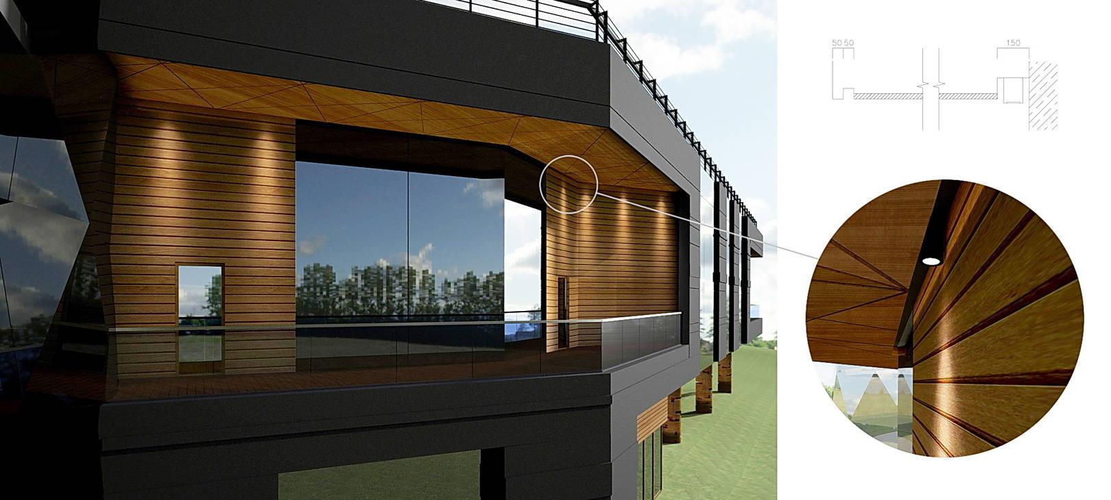 загодный дом - минимализм