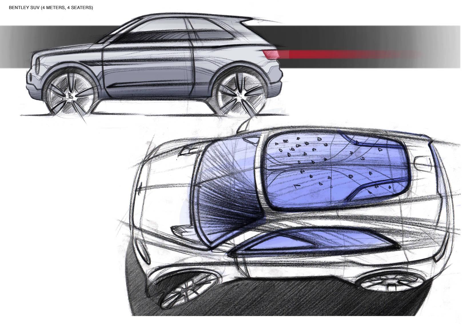 automotive sketches