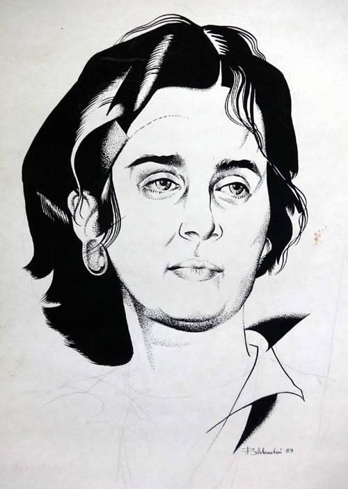 Портрет Наташи.