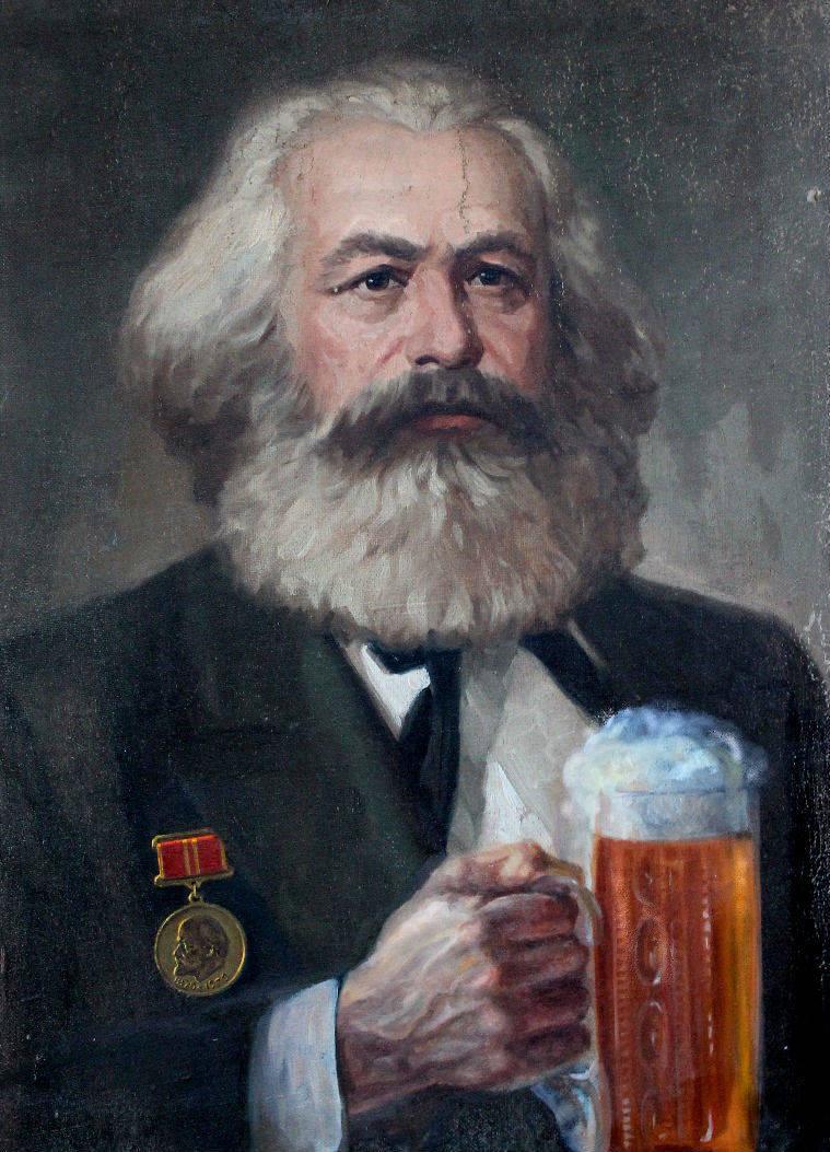 Карл Фридрих Маркс после награждения юбилейной медалью в честь 100-летия В.И.Ленина