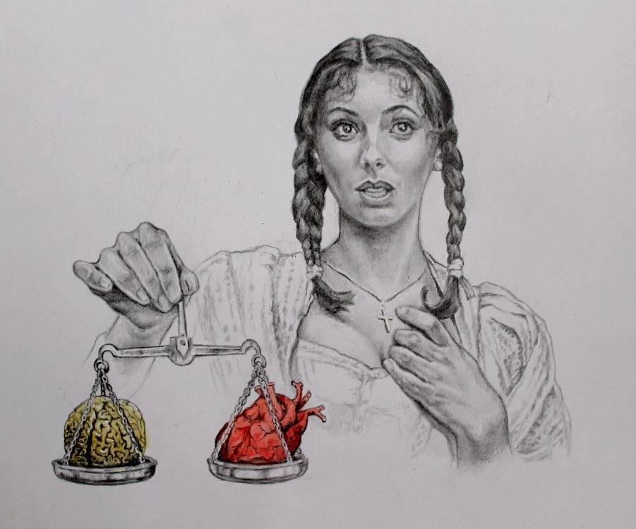 Умом или сердцем