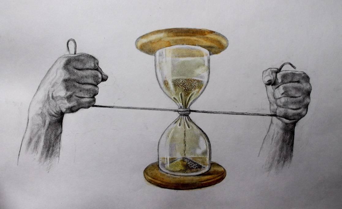 Песочные часы ещё идут...