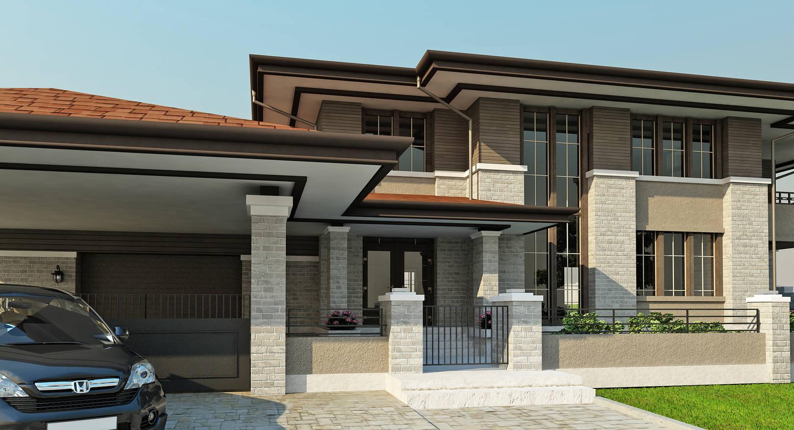 дом в стиле Райта 2