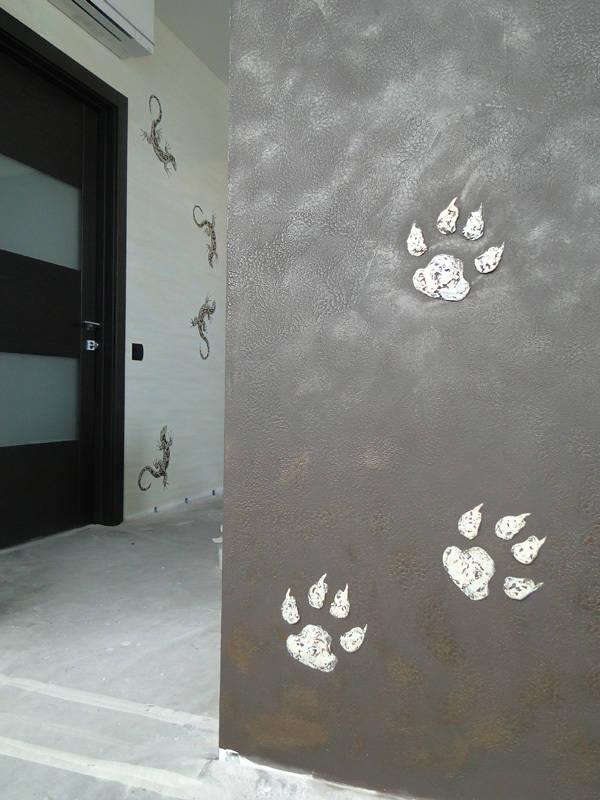 """Декорация стены в стиле """"Сафари"""""""
