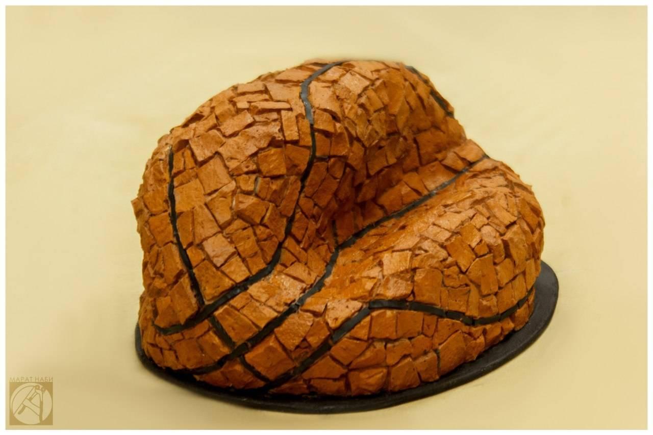 """""""Баскетбольный мяч"""" 25х20х15см (кирпич, керамика, пеноплекс)"""