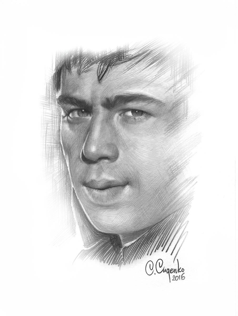 Портрет Сергея Бодрова