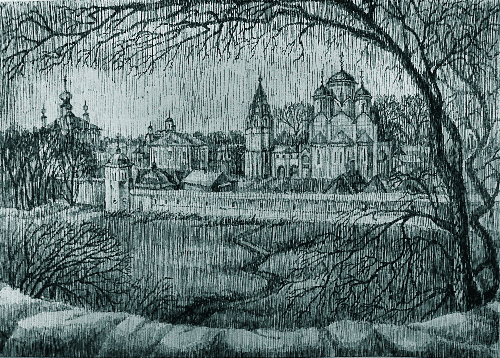 Суздаль.Покровский монастырь.