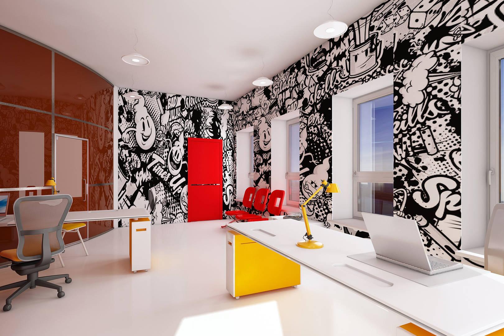 """Art-агентство """"Art-info"""".Визуализация отдела по работе с клиентами."""