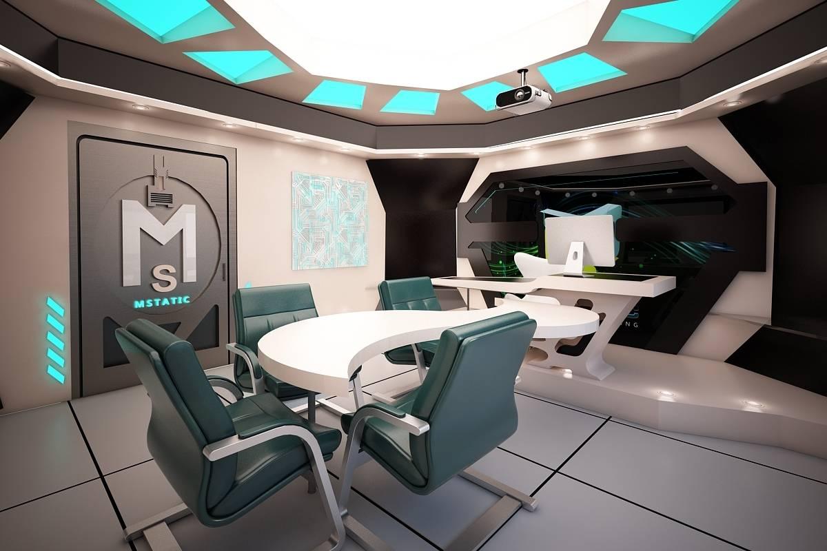 "Проект интернет кафе ""MSTATIC"""