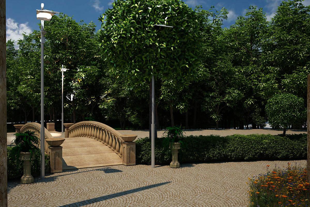 """Дизайн-проект ландшафта парковой зоны """"Новая надежда"""". Набу-зона искусства."""