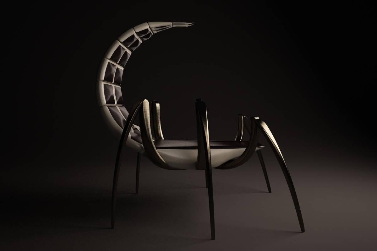 """Разработка авторской мебели.Кресло  """"Animal Chair""""."""