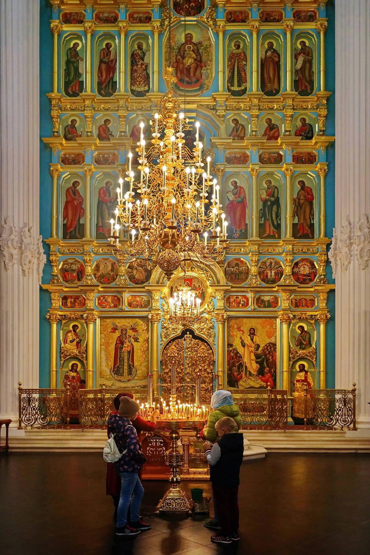 Алтарь Воскресенского храма.