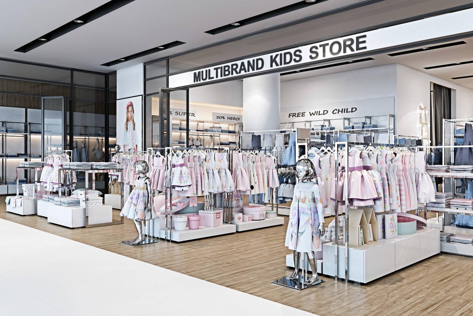Multibrand kids store. TSUM Kiev.