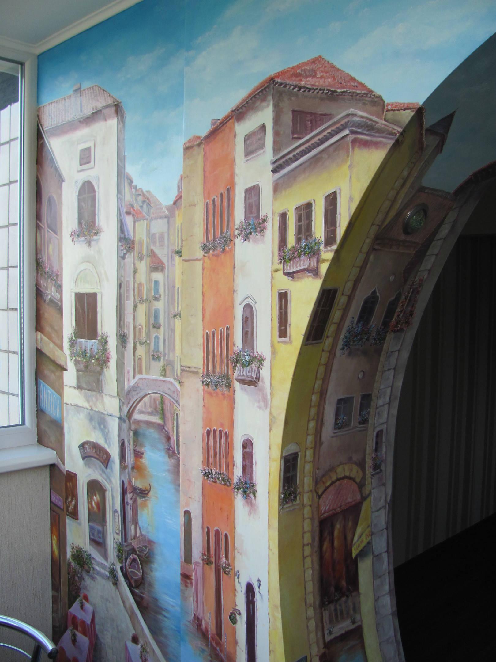 "Роспись арки""венеция' - виталий - vatikam."