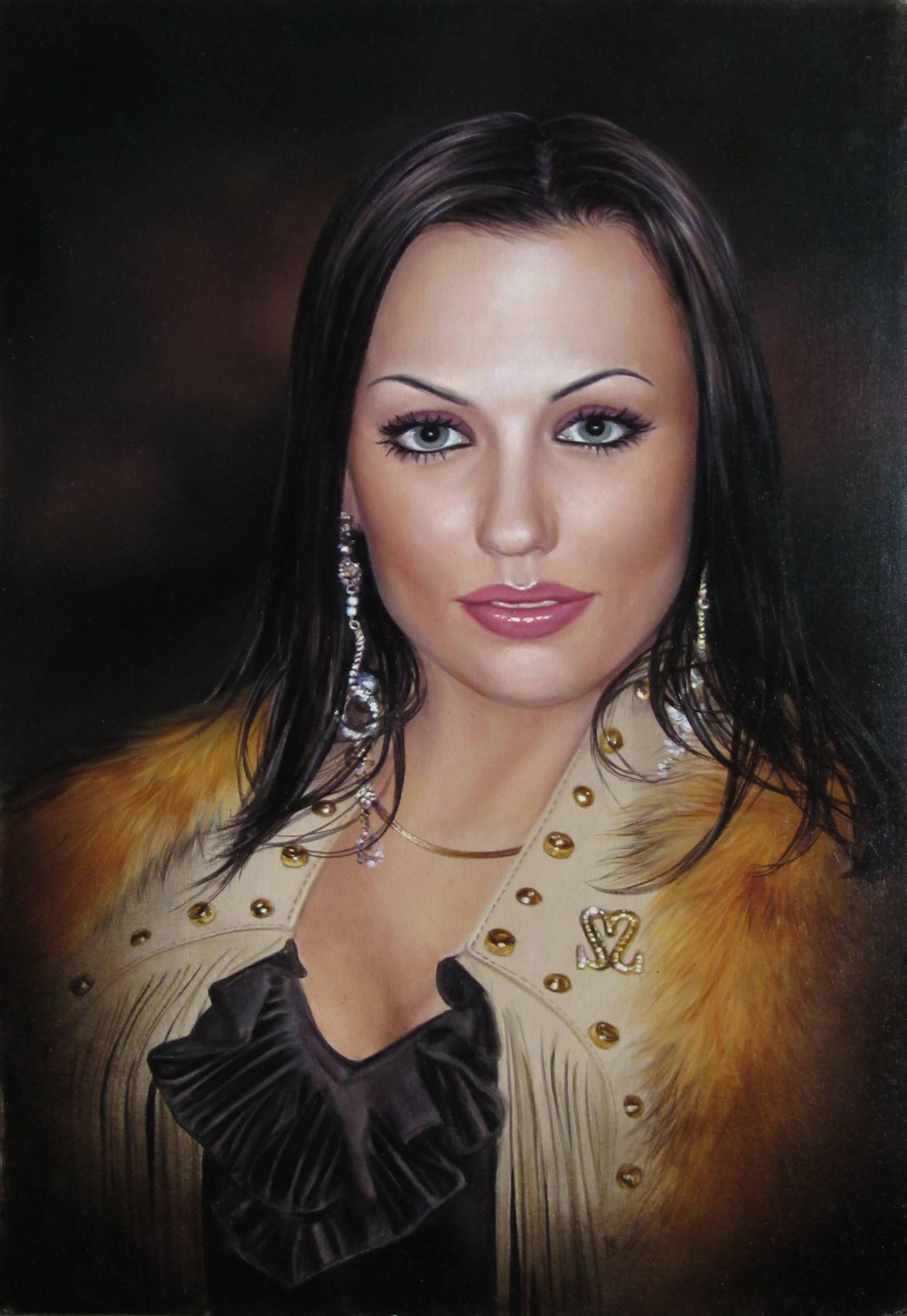 Портрет, холст, масло, 60х40,2012